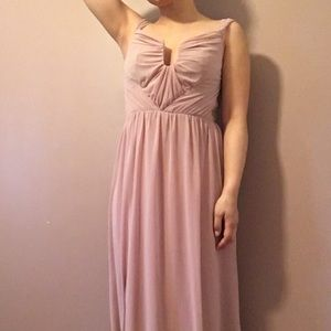 ASOS Dusky/Blush Pink Dress